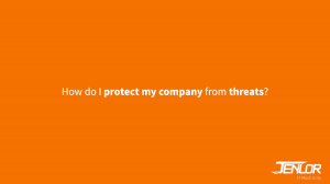 How do I protect my company from cyberthreats video? JENLOR IT Made Easy